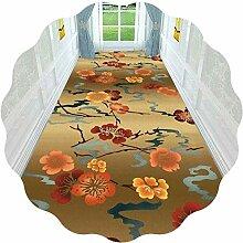 Flur Runner Teppich 3D Mit Blumenmuster Mit Low