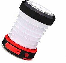 Flushzing Solarbetriebene Faltbare Handlampe,