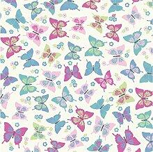 Flutterby Sweet Butterfly Candy 100% Baumwolle