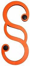 Flux Gummiparagraph Tür- und Fensterstopper, verfügbare Farben:Orange