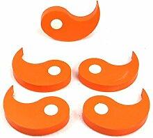 Flux Türstopper und Fensterstopper, orange, 5er Se