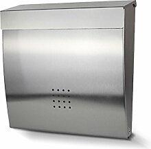 FLY Edelstahl Abschließbar Mailbox Mailbox