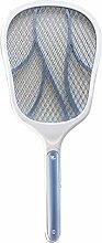 Fly Killer, Sayou® USB Wiederaufladbar MüCkenabwehr Elektrisch / FliegenfäNger Elektrisch / Elektrische Fliegenklatsche Insektenvernichter für MüCken, Fliegen Und Anderen Insekten(Stil 1)