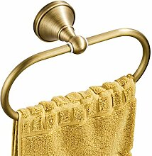 Flybath Ovaler Handtuchring Antiquität Messing