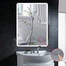 Flyelf Badspiegel LED,50x70cm Beleuchtung