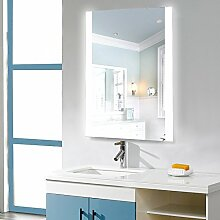 Flyelf Badspiegel LED Spiegel,70x50cm Beleuchtung