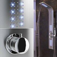 Flyelf Duschpaneel LED,Duschsystem Duscharmaturen