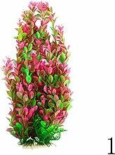 Flying Light Aquarium künstliche Pflanze Simulation Kunststoff Wasserpflanzen Dekoration (46cm)
