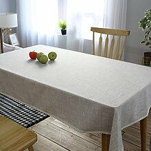 FLYRCX Einfache europäische Stil Tischdecke TV-Schrank Staub Tuch, 130 x 240 cm
