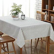 FLYRCX Moderne Schlichtheit plus Wallpaper home Tischdecke, 70 x 70 cm