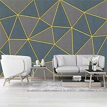 FLYYL Wallpaper Hd Moderne Einfache Geometrische