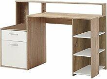 FMD Möbel Bolton Computertisch, Holz,
