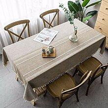 FMYAO Tischdecke, einfach, für Wohnzimmer,