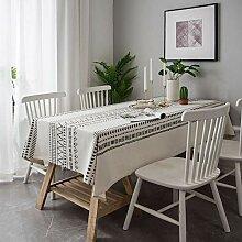 FMYAO Tischdecke für Couchtisch, Wohnzimmer, 140