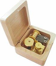FnLy Musik-Box mit 18 Noten im Retro-Stil,