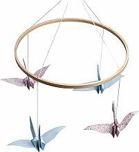 Fnsky Windspiel aus Holz, zum Selbermachen von
