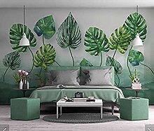 Fobostory3D Tropische Blätter Tapete Wandhaupt