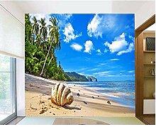 Fobostory 3D Wohnzimmer Strand Wolken