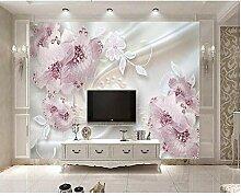 Fobostory Luxusdiamant Blüht 3D Schmuck