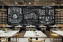 FobostoryTapete 3D Wandbild Restaurant