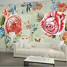 Fobostory Tapete Blume 3D Wandbild Tapete Tapeten