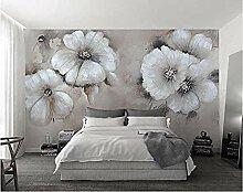 FobostoryTapete Ebene Ölgemälde Stil Blume