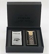 Focus USB elektronisches Feuerzeug mit Lichtbogen