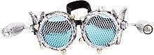 Focussexy Vintage Steampunk Brille Retro Brille