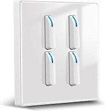 Foicags Key Switch Modern Nordic Style Rocker