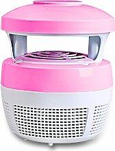 FOKN Keine Strahlung Mute Multifunktion Anti-Moskito-Lampe Insektenschutz Lichter,Pink-15*17cm