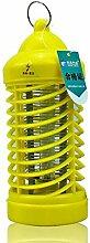 FOKN Strahlungsfrei Anti-Moskito-Lampe Elektronik Photokatalysator Mute Insektenschutz-Leuchten Eine Packung 2 (9 * 20.8cm) Von,Yellow
