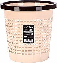 FOKOM 10L Papierkorb Büro Mülleimer Abfalleimer Abfallbehälter Küchenabfalleimer Trash Bin