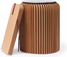 Fold Concept Faltbarer Papier Hocker Papphocker