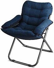 Folding Computer Stuhl Sofa Stuhl Fashion Lazy Sofa Matratzenstühle können Liegen Freizeit Home Rückenlehne Stühle Lazy Sofa (eine Vielzahl von Farben optional) ( farbe : # 6 )