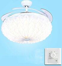 Folding Restaurant Stealth Deckenventilator Lampe