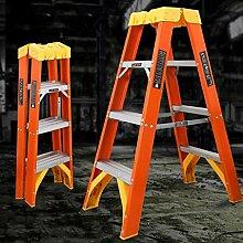 Folding Steps Ladder Wood- Isolierte hohe Härte