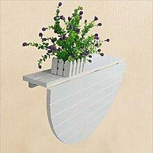 Folding table Nan Wand-Laubtisch, halbrunde Wand
