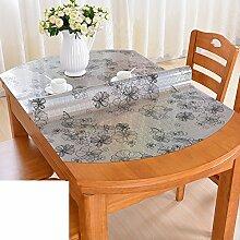 Folding tischdecke/ovale tischdecke/wasserdichte und anti-ironing tisch matte-R 70x120cm(28x47inch)
