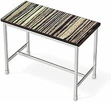 Folie Möbel für IKEA Utby Bartisch 120x60 cm | Möbelfolie Klebesticker Tapete Folie Möbel verschönern | Home & Style Esszimmer Home Deko | Design Motiv Schnurstracks