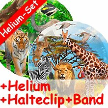 Folienballon * SAFARI + HELIUM FÜLLUNG + HALTE