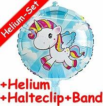 Folienballon Set * Baby Einhorn * + Helium