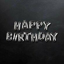 Folienballon Upper Class Happy Birthday Butlers