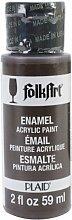 Folk Art Emaille-/Bratenspritze Farbe Gebranntes