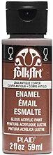 Folk Art Emaille-/Bratenspritze Farbe Metallic