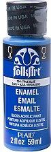 Folk Art Emaille-/Bratenspritze Farbe True Blue