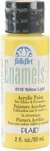 Folk Art Emaille-/Bratenspritze Farbe Yellow Ligh
