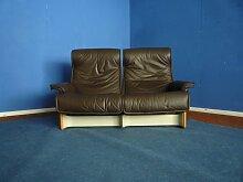 Follow Me Leder Sofa von Otto Zapf für Knoll