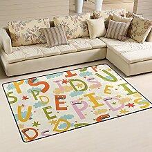 FOLPPLY, die dekorative Cute die Alphabet Bereich