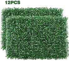 FOME Künstliche Heckenpflanze, 12 Stück, 39,9 x
