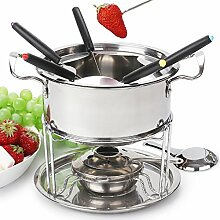 Fondue set roestvrij staal Cheese roestvrij staal
